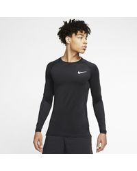 Nike Pro Tight-fit Long-sleeve Top - Black