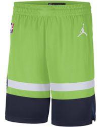 Nike Timberwolves Statement Edition 2020 Jordan NBA Swingman Shorts - Grün