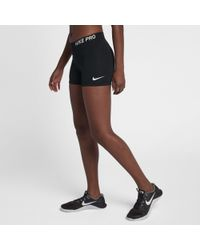 "Nike - Pro 3""(7.5cm Approx.) Training Shorts - Lyst"