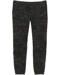 Nili Lotan Cropped French Military Pant - Multicolour