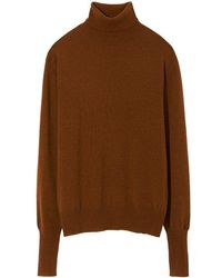 Nili Lotan Ralphie Sweater - Brown