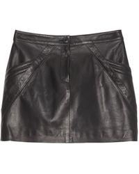 Nili Lotan Kade Skirt - Black