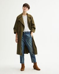 Nili Lotan Benning Trench Coat - Green