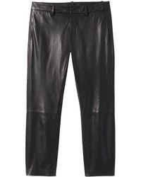 Nili Lotan Tel Aviv Leather Pant - Black