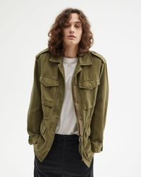 Nili Lotan Madden Military Jacket - Green