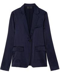 Nili Lotan Mireu Jacket - Blue