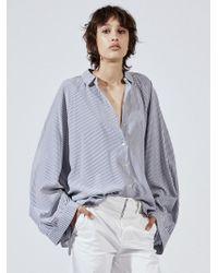 Nili Lotan - Leah Silk Shirt - Lyst