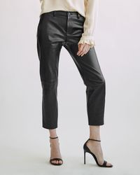 Nili Lotan Tel Aviv Leather Pant - Black
