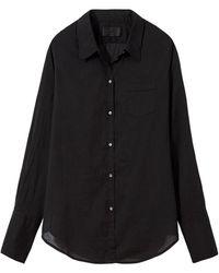 Nili Lotan - Cotton Voile Nl Shirt - Lyst