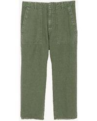 Nili Lotan Luna Pant - Green