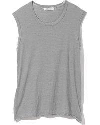 Nili Lotan Muscle Tee - Grey