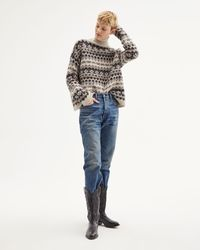Nili Lotan Catalina Fair Isle Jumper - Multicolour