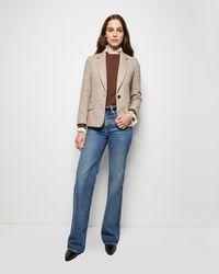Nili Lotan Humphrey Elbow Patch Jacket - Multicolour