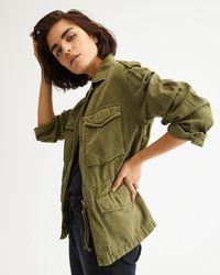 Nili Lotan Madden Military Jacket - Green