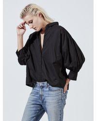 Nili Lotan - Trenton Cotton Shirt - Lyst