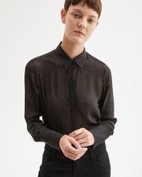 Nili Lotan Lleida Shirt - Black