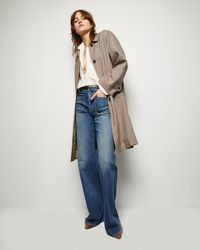 Nili Lotan Watson Duster Coat - Multicolor