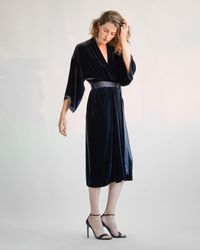 Nili Lotan - Rey Kimono Dress - Lyst