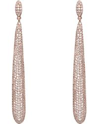 Nina Hermosa Earring-rose Gold - Multicolor
