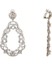 Nina Majestic Earring-gold - Metallic