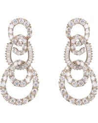 Nina - Amala Earring-gold - Lyst