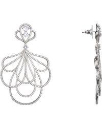 Nina Camora Earring-rhodium - Metallic