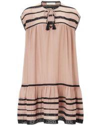Carolina K - Santana Short Silk Cotton Dress - Lyst