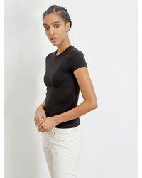 Ninetypercent Tm Fitted Short-sleeve T-shirt - Black