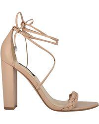 Nine West Monikka Ankle Wrap Heeled Sandal - Multicolor