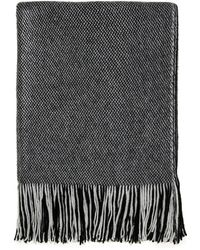 Nine West | Brushed Wrap Knit Oblong Scarf | Lyst