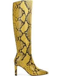 Nine West Maxim Heel Boots - Yellow