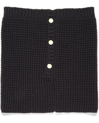 Nine West - Neck Warmer With Buttons - Lyst