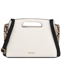 Nine West Marisol Cut Out Crossbody - Natural