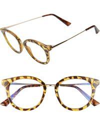 BP. 50mm Blue Light Blocking Glasses - Brown