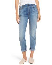 Jen7 Slim Boyfriend Jeans - Blue