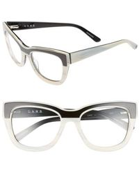 L.A.M.B. - 53mm Optical Cat Eye Glasses - - Lyst