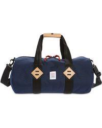 Topo Water Repellent Classic Duffle Bag - Blue