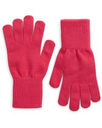 Trouvé Nordstrom Knit Gloves - Pink