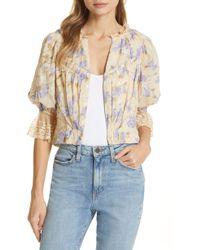 Love Sam La Villette Short Sleeve Jacket - Natural