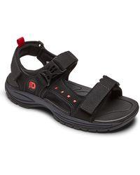 Dunham 'nolan' Sandal - Black