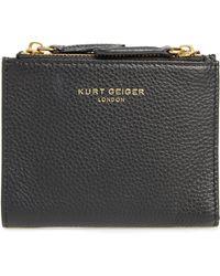 Kurt Geiger - E Leather Wallet - Lyst