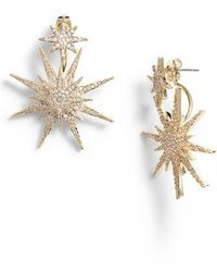 Serefina - Medium Starburst Ear Jackets - Lyst