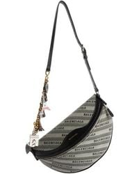 Balenciaga - Extra Small Souvenir Logo Belt Bag - - Lyst