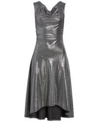 Tracy Reese - Draped High/low Dress - Lyst