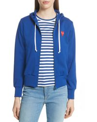 Comme des Garçons - Play Pullover Hoodie - Lyst