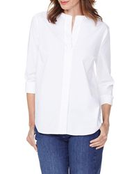 NYDJ Signature Blouse - White