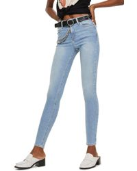 TOPSHOP - Jamie Skinny Jeans - Lyst