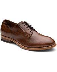 Gordon Rush Plain Toe Derby - Brown