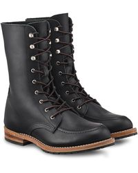 Red Wing Gracie 8-inch Moc Boot - Black