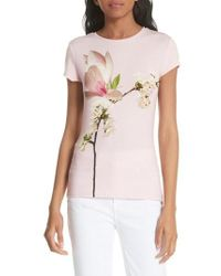 Ted Baker - Ameliza Harmony Fitted Tee - Lyst